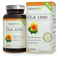 NatureWise CLA 1250 – High potency, Non- GMO Conjugated Linoleic Acid, 90-ct