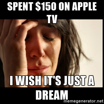Apple TV meme