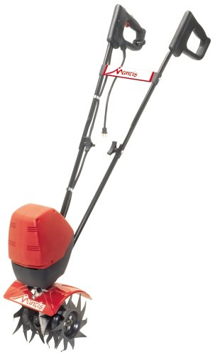 Mantis 7250-15-02 3-Speed Electric Tiller/Cultivator with Border Edger and Kickstand