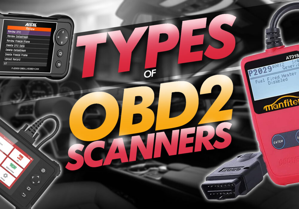 types of obd2 scanners