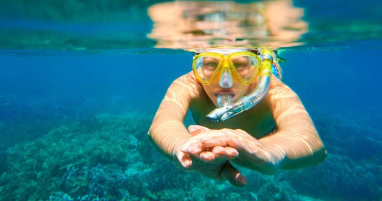 face snorkel