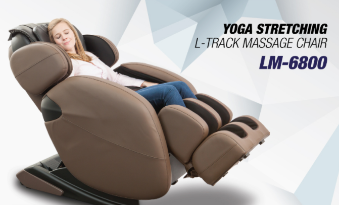 L-Track Kahuna Massage Chair Recliner LM68000