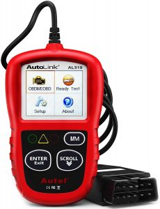 Autel Autolink Al319 Obd2 Scanner