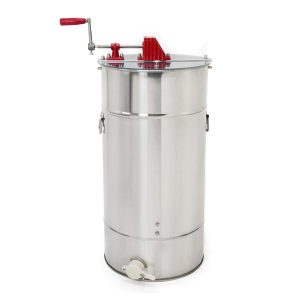 XtremepowerUS 2-Frame Stainless Steel Honey Extractor