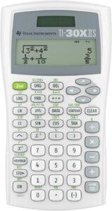 3. Texas Instruments Ti 30x Iis 2 Line Scientific Calculator