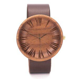 Ovi American Walnut Wooden Watch For Men