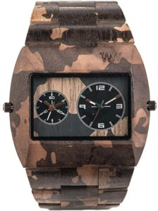 Wewood Men's Analogue Quartz Watch With Wood Strap