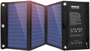 Nekteck 21w Portable Solar Panel Charger