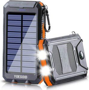 Yoesoid 2000mah Portable Solar Charger