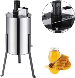 Bestequip Electric Stainless Steel Honey Extractor