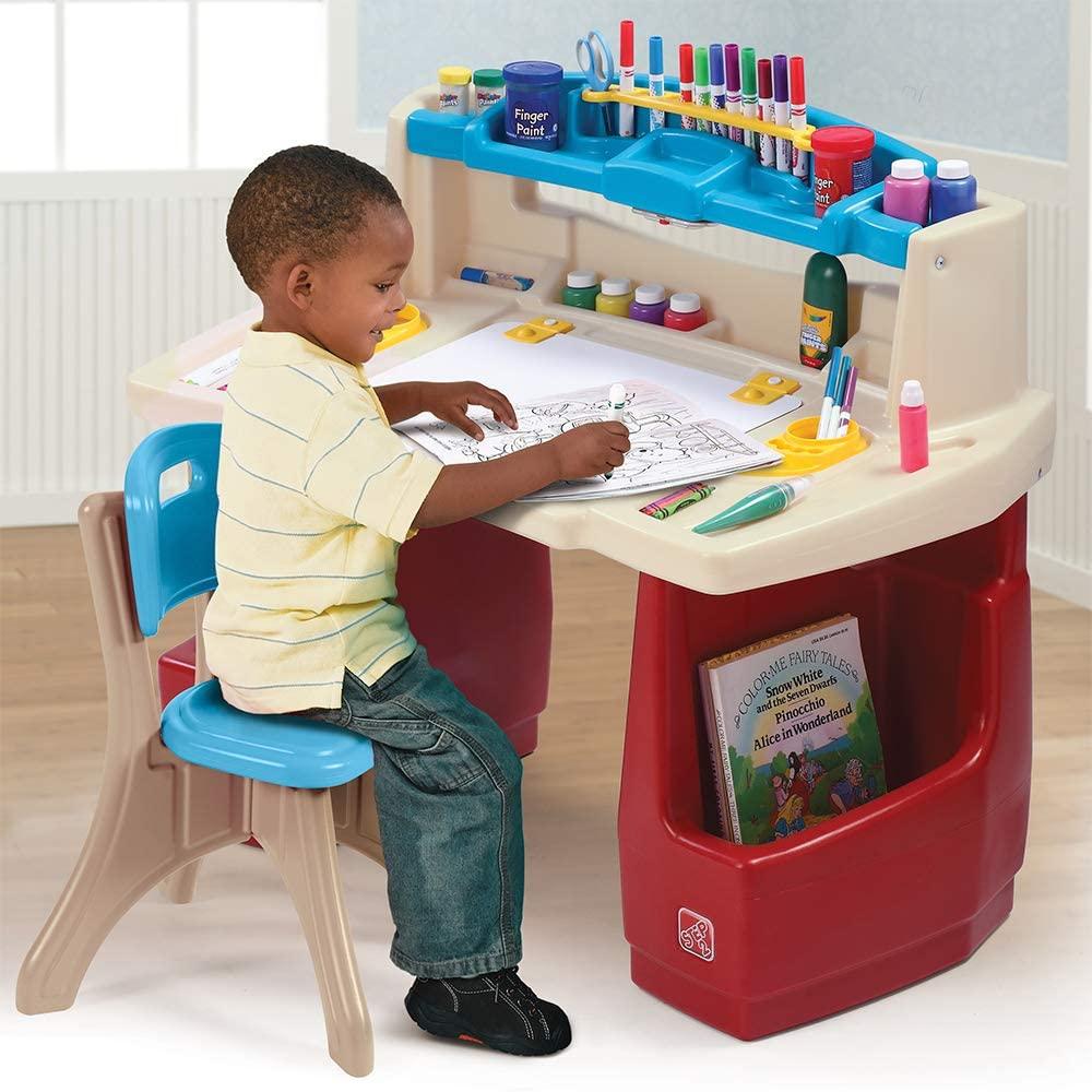 Step2 Deluxe Art Master Kids Desk