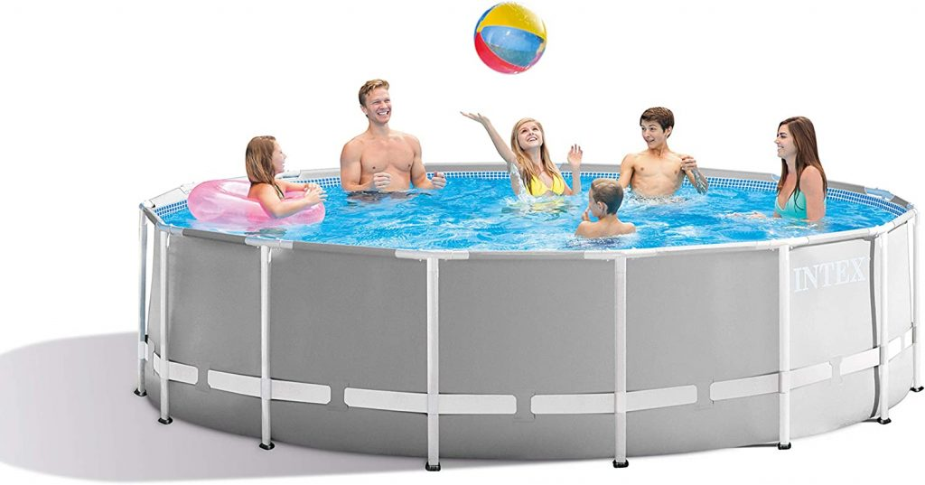 Intex 26725eh Prism Frame Set Above Ground Pool