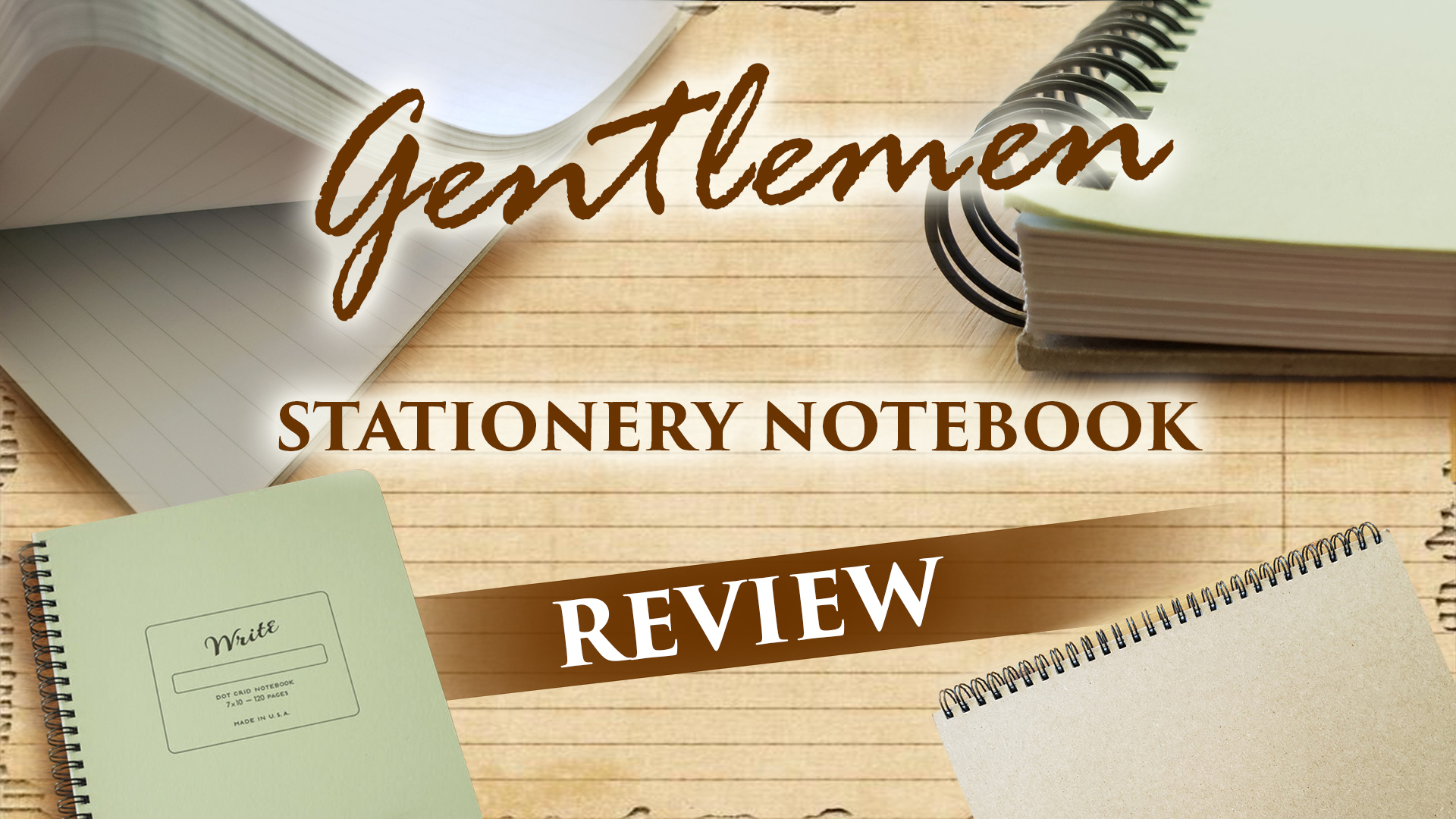 Gentlemen Stationery Notebook Review
