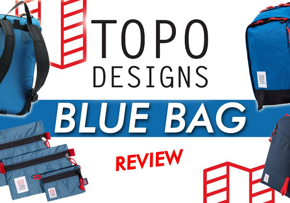 Topo Designs Blue Bag Review