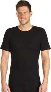 Spanx Compression Crew Neck Shirt For Men