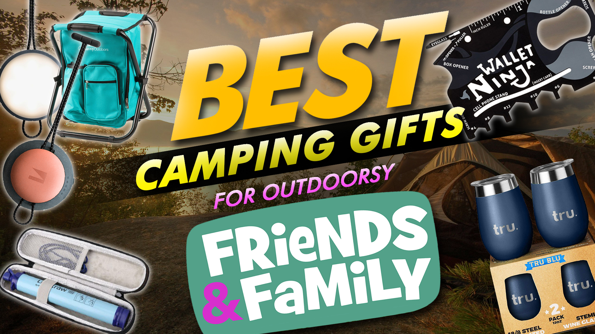 Best Camping Gifts For Outdoorsy Friends And Family