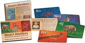 Desert Dwellers Flash Cards