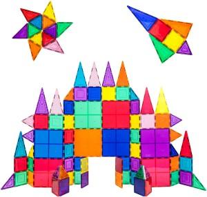 Picassotiles 100 Piece Magnetic Building Tile Set