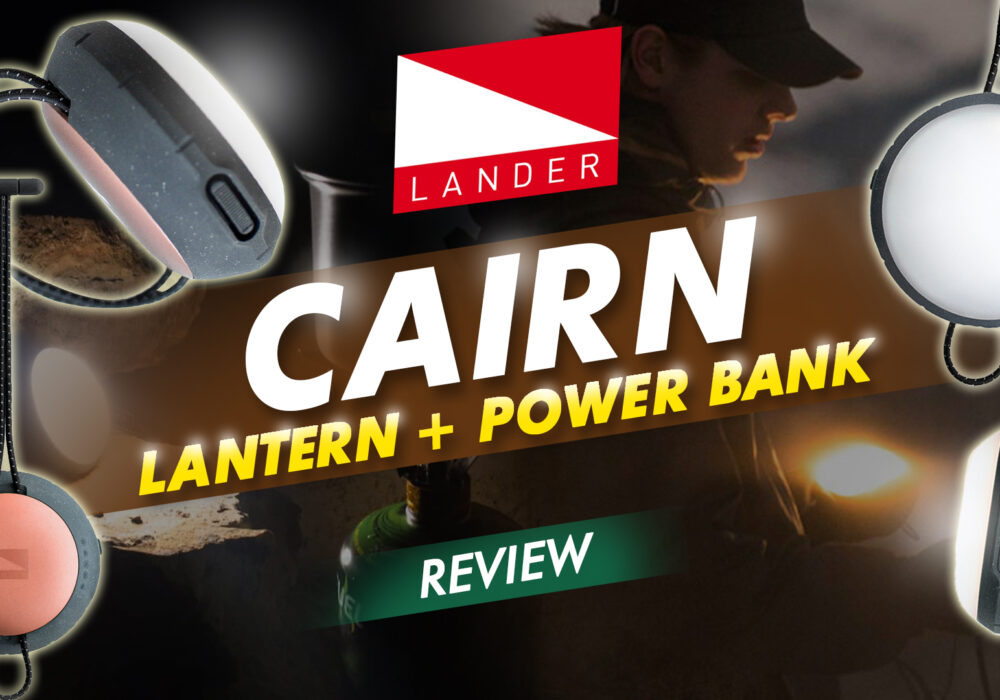 Cairn Lantern + Power Bank Review