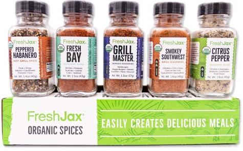 Freshjax Grilling Spice Set
