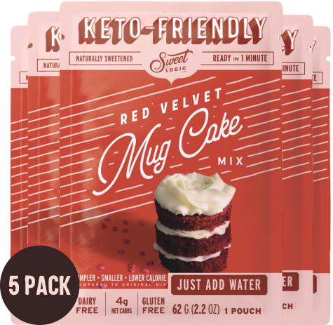 Sweet Logic Keto Friendly Mug Cake Mix