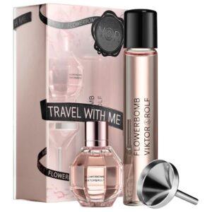 Viktor&rolf Flowerbomb Perfume Travel Set