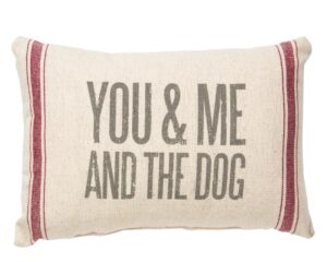 you & me and the dog